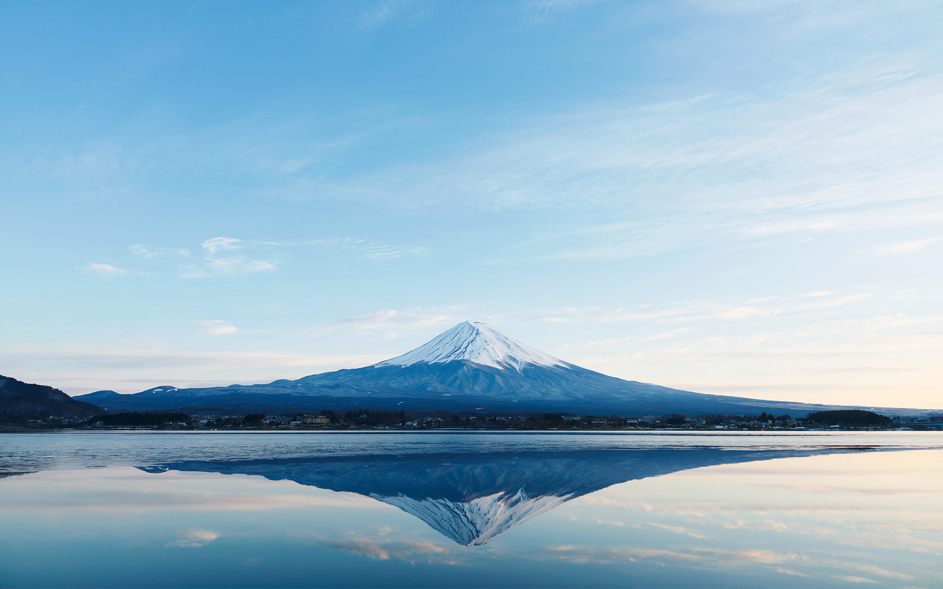 Great achievements come from Fujiyama in Japan