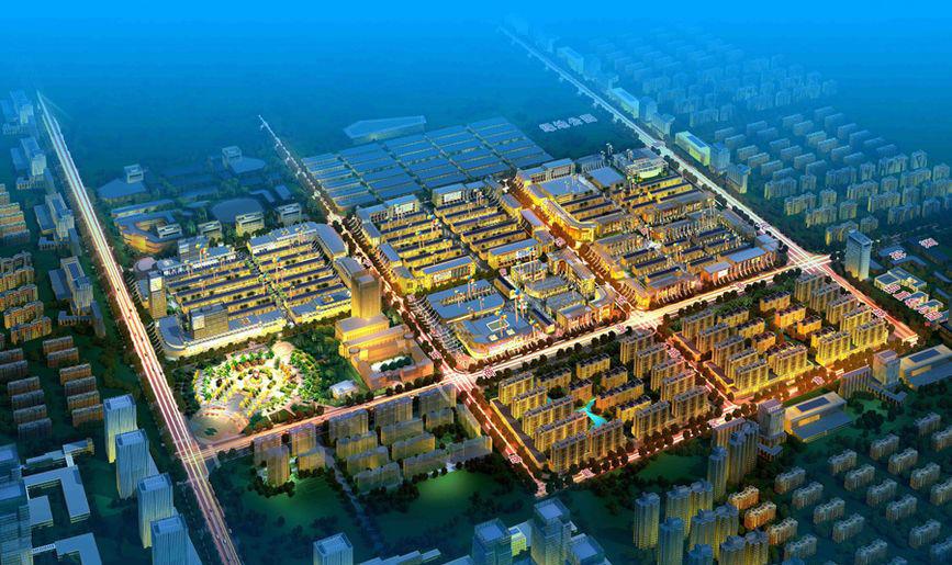 河南省周口市通许县金达商贸城
