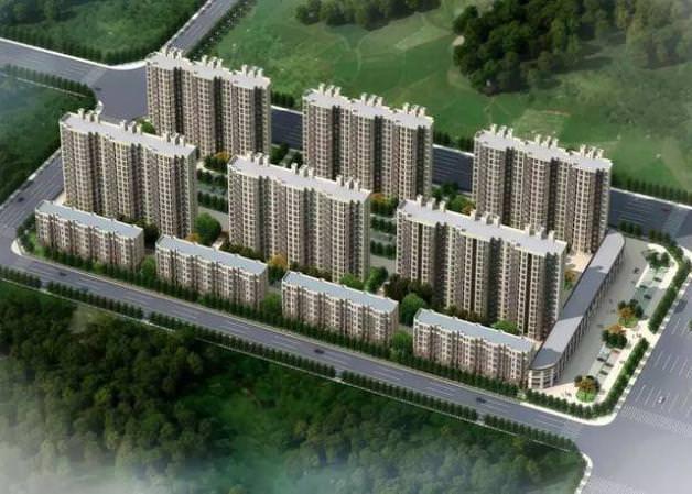 忻州市忻府区扶贫移民怡居苑第十期建设工程
